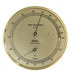 Hair hygrometer with...