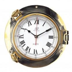 Clock 6 inch brass - Plastimo
