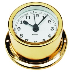 Nautical clock - gold...