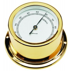 Nautical hygrometer - gold...