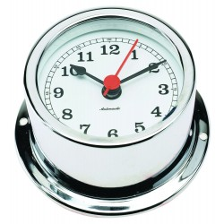 Nautical clock - chrome -...