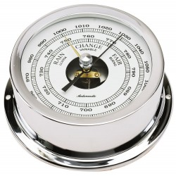 Nautical barometer - chrome...