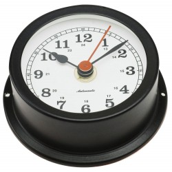 Nautical clock - black -...
