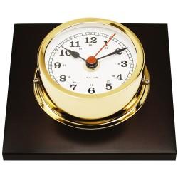 Plinth mounted clock - gold...