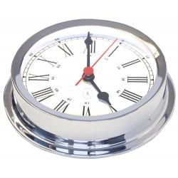 Nautical clock - chrome -...