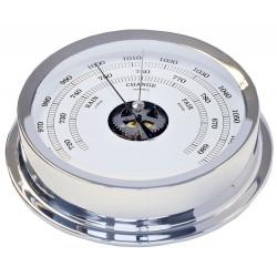 Nautical barometer - chrome...