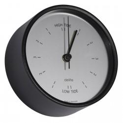 Tide clock ø 100 mm - Black...