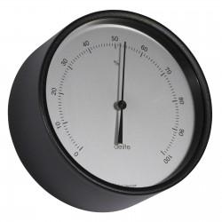 Hygrometer ø 100 mm - Black...