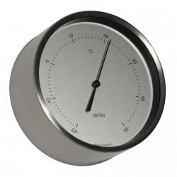 Thermomètre ø 100 mm - Inox...