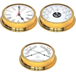 Nautical set - gold plated-...