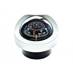 Inbouwkompas - 85 mm - Wit...