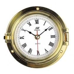 Clock 4,5 inch brass -...