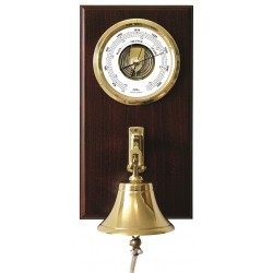 Barometer with ships bell...