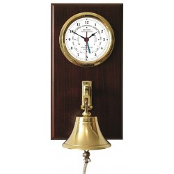 Tide clock with ships bell...