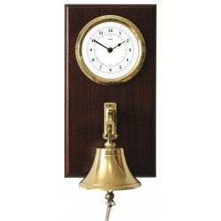 Quarz clock with ships bell...