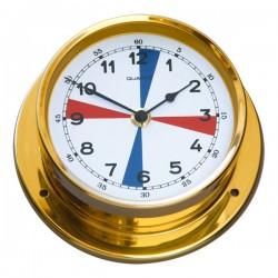 Quartz clock with radio...
