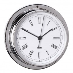Clock quarts chrome ø 120...