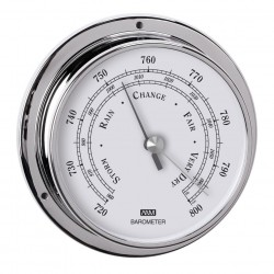 Barometer chrome ø 120 mm -...