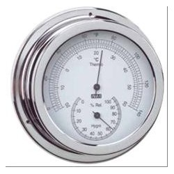 Thermo-Hygrometer chrome ø...