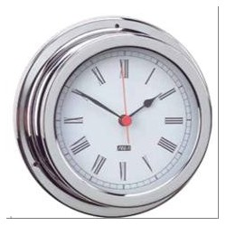 Clock quarts chrome ø 150...
