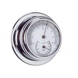 Thermo-Hygromètre Chrome ø...