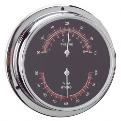 Thermo-Hygrometer chrome...