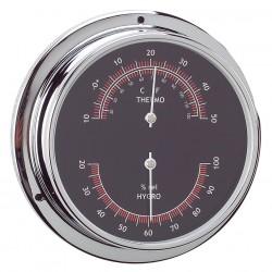 Thermo-Hygromètre Chrome...